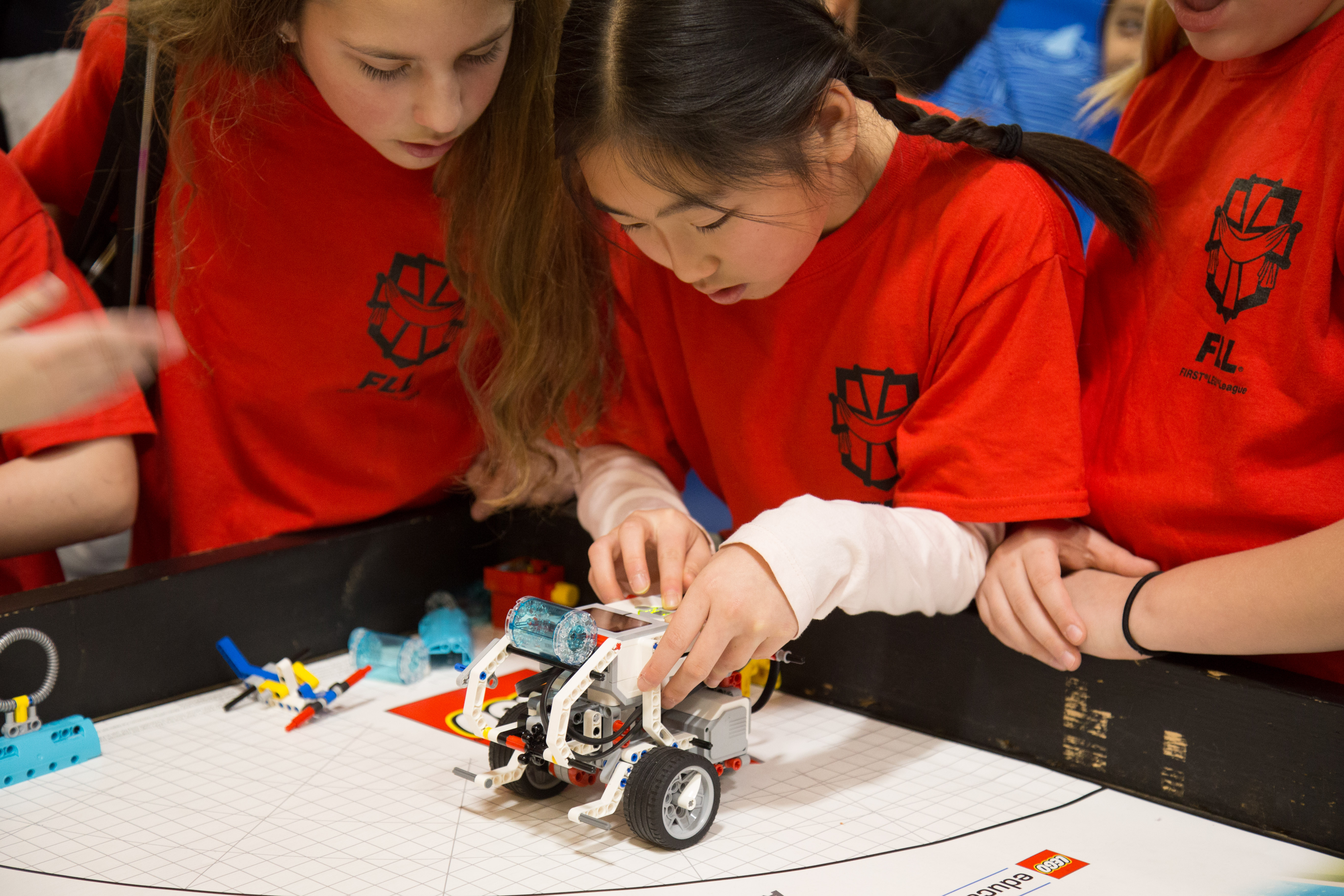Robotics Team competes at FLL Tournament