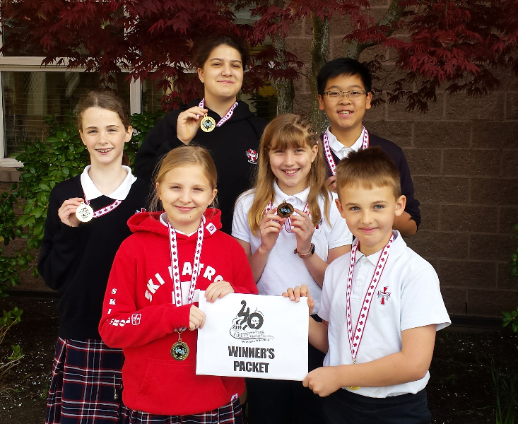 Odyssey Of the Mind Club brings home the GOLD!