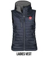 Ladies Hooded Vest - $90.00