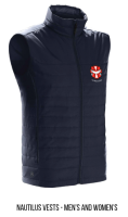 Ladies and Mens Nautilus Vest $85.00