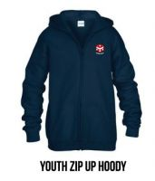 Zip Up Hoody - Youth $35.00, Adult $38.00
